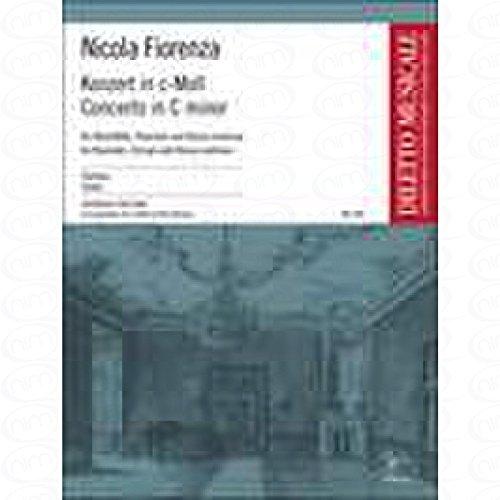Geconcentreerd C-MOLL - gearrangeerd voor oude blokfluit - piano [noten/Sheetmusic] Componist : FIORENZA NICOLA uit de serie: DILETTO MUSICALE