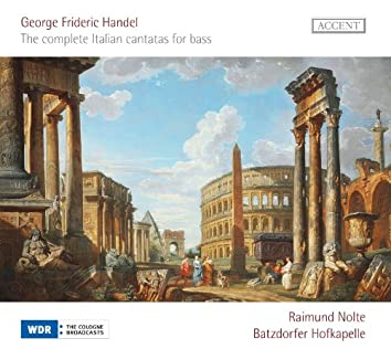 Handel: The Complete Italian Cantatas for Bass