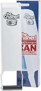 The Crusher 77701 Pacific Precision Metals Aluminum Can Compactor, White