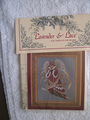 Lavender & Lace - Angel of Christmas - Victorian Counted Cross Stitch Pattern (L&L 39)