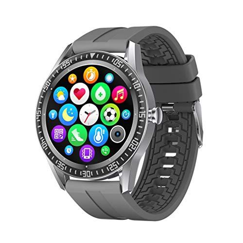 QKA Smart Watch, Bluetooth Call, IP67 Empresa Impermeable Smartwatch, Rastreador De Fitness, Pulsera Inteligente De Los Hombres (para Android iOS),D