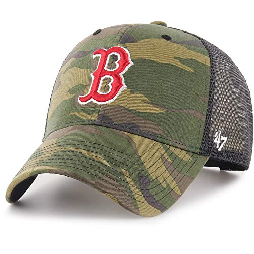 '47 Brand MLB Boston Red Sox Camo Branson Gorra
