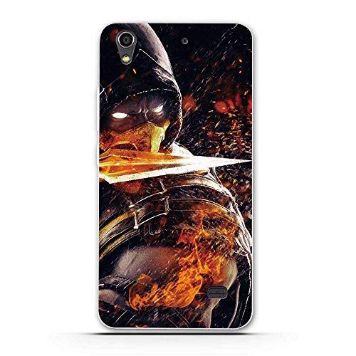 PELAN Cajas del Teléfono Móvil Funda De Silicona Suave De TPU para Huawei Honor 4 Play G620S Funda De Teléfono Trasera para Huawei Ascend G620S Impresión Pintada Shell 19