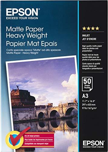 Epson Heavyweight A3 (50) Inkjet Papier