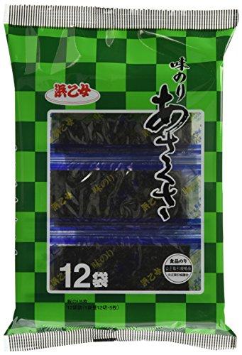 浜乙女味のりあさくさ12袋12袋×10個