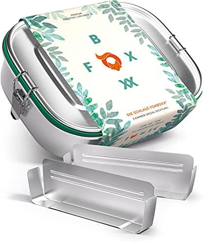 FOXBOXX® Personalisierbare Edelstahl...