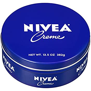 NIVEA Creme - Unisex All Purpose Moisturizing Cream for Body Face and Hand Care - Use After Washing with Hand Soap - 13.5 Oz Tin Jar