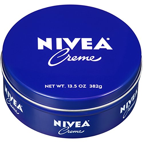 NIVEA Crème - Unisex All Purpose Moisturizing Cream for Body, Face and Hand Care - Use After Washing With Hand Soap - 13.5 oz. Tin Jar