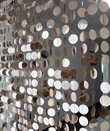 PENVEAT Festival Party liefert PVC Pailletten Vorhang Interieur Dekorative Vorhänge DIY Hochzeit liefert, Champagner
