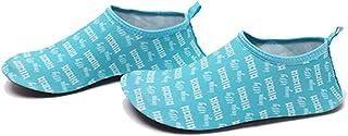 Uniseks waterschoenen, sneldrogende sportschoenen, voor zwemmen in de open lucht, leren schoenen, zwemschoenen met afvoerg...