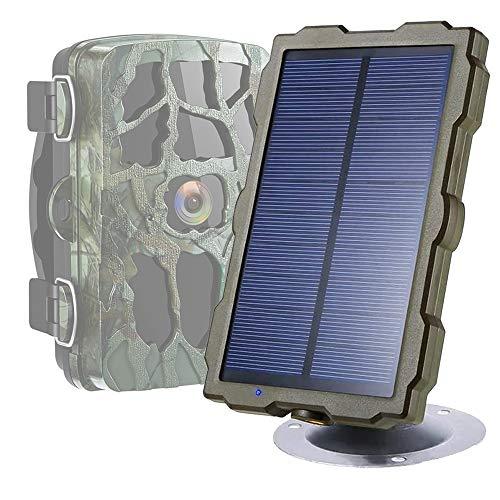 Braveking1 Cámara de Caza Panel Solar Trail Game Camera IP5