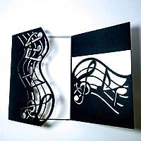 金属切削は、ダイカットモールド結婚式音楽デコレーションスクラップブックペーパークラフトナイフの金型ブレードパンチステンシルのダイをダイ (色 : SH1994)
