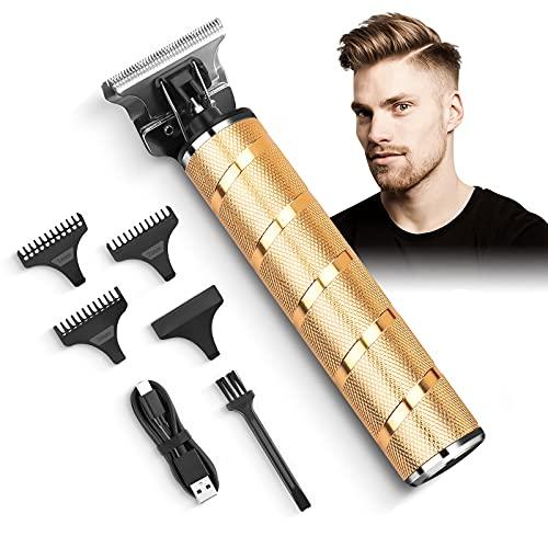 Haarschneidemaschine Profi Haarschneider Herren Elektrisch Haartrimmer avec LED-Anzeige, Wiederaufladbare Akku, Barttrimmer für Männer und Friseure