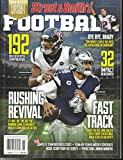 STREET & SMITH'S FOOTBALL MAGAZINE, 2020 PRO FOOTBALL YEAR BOOK FAST TRACK ISSUE, 2020 ( PLEASE NOTE: ALL THESE MAGAZINES ARE PETS & SMOKE FREE. NO ADDRESS LABEL, FRESH STRAIGHT FROM NEWSSTAND. (SINGLE ISSUE MAGAZINE)