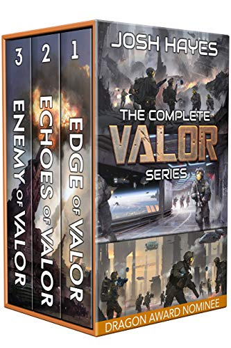 Valor: The Complete Series: A Military Sci-Fi Box Set by [Josh Hayes]