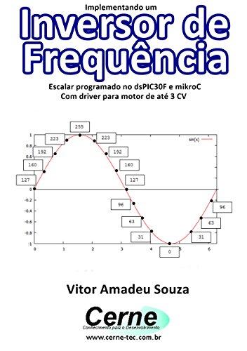 Implementando um Inversor de Frequência com dsPIC Escalar programado no dsPIC30F e mikroC Com driver para motor de até 3 CV