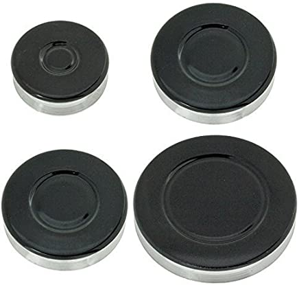 Cuisinière Cuisinière à gaz Brûleur /& flamme cap couronne noir les petites et moyennes grandes DIPLOMAT Four