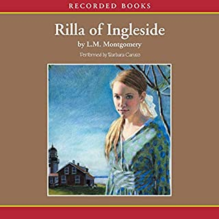 Rilla of Ingleside                   By:                                                                                                                                 L.M. Montgomery                               Narrated by:                                                                                                                                 Barbara Caruso                      Length: 10 hrs and 50 mins     259 ratings     Overall 4.7