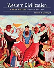 Best western civilization a brief history volume ii Reviews