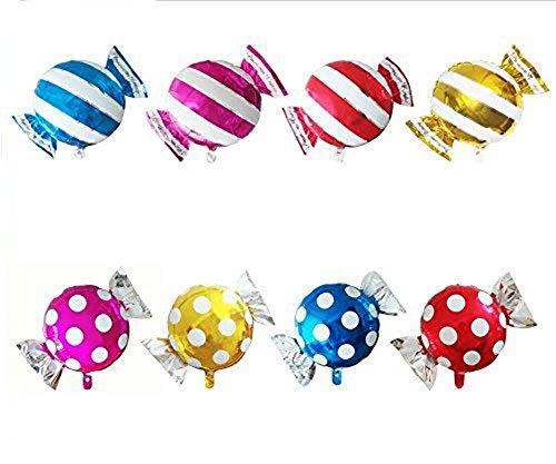 8 x milopon Aluminium Foil Balloons Candy Decor Ballon Ballon Cartoon Toy Birthday Party Decoration 45 * 63 cm
