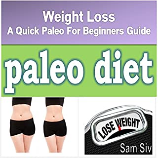 Diets and Weight Loss: Paleo Diet audiobook cover art
