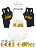 Drunk in Love Tank Top, Bachelorette Party Shirt, Just Drunk Tank Top, Drunk in Love Shirt, Drunk in Love Bachelorette tank, Las Vegas