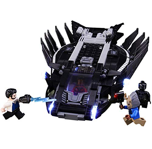 QZPM Led Beleuchtungsset Für Lego Marvel Super Heroes Royal Talon Attacke, Kompatibel Mit Lego 76100...