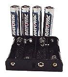 Battery Pack, Eplex, (4) Alkaline AA