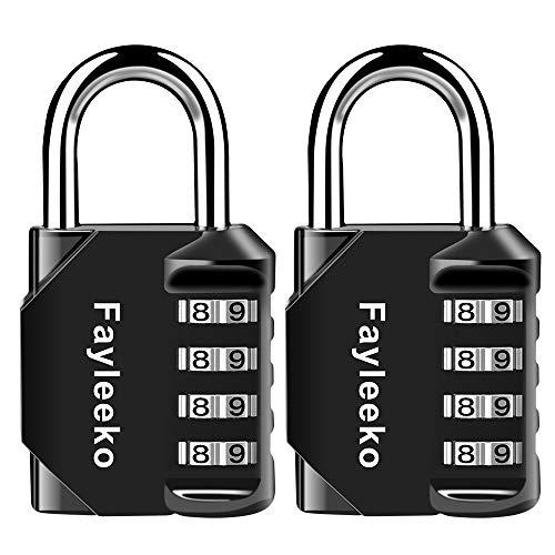 Caja de Herramientas. Lockers Puerta de Verja Maleta de Equipaje,Cerraduras de Equipaje Candado de Seguridad con Combination 3-Digits Ideal para Gimnasio Archivadores
