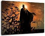 Batman Format 120x80 cm Bild auf Leinwand, XXL riesige