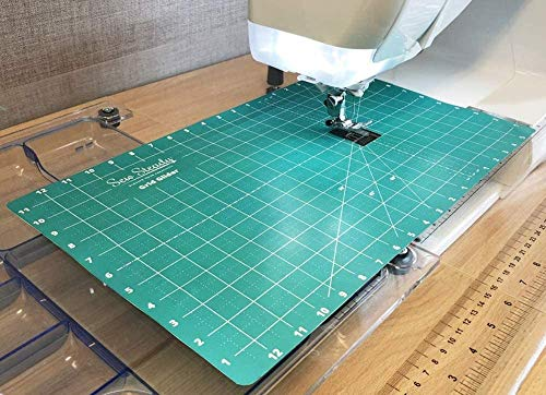 Sew Steady Free Motion Quilting Slider Mat Grid Marked 12 x 20 with...
