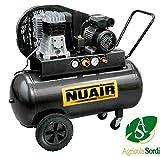 Nuair Compresseur B3800B/3M/100Silencieux Bicilindrico monostadio 3HP 230V 75kg -