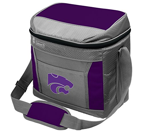 Coleman NCAA Soft-Sided Insulated Cooler Bag, 16-Can Capacity, Kansas State Wildcats