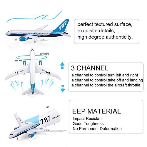Goolsky QF008 Boeing 787 Flugzeug Miniatur Modell Flugzeug 3CH 2.4G Fernbedienung EPP Flugzeug RTF RC Spielzeug