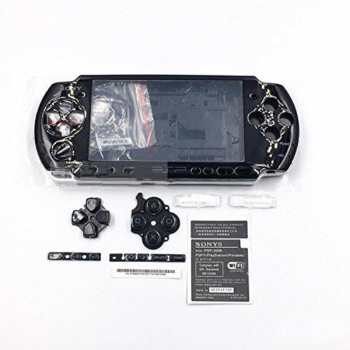 Ersatz-Gehäuse mit Tasten für Sony PSP3000 PSP 3000 3001 3002 3003 3004 Serie.