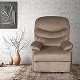 Sillón reclinable de cuero de la PU de la silla del sofá de la silla del sofá del...
