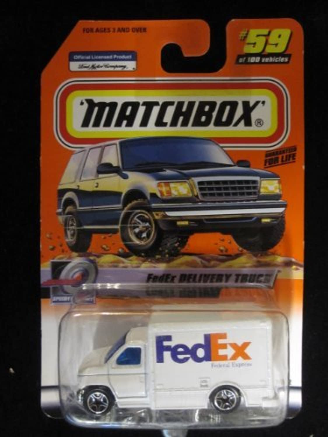 FedEx Delivery Truck Matchbox Speedy Delivery Series  59 by Matchbox