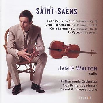 Saint-Saens Cello Works
