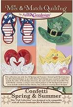 Anita Goodesign Embroidery Designs Confetti Spring & Summer