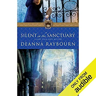 Silent in the Sanctuary audiobook cover art