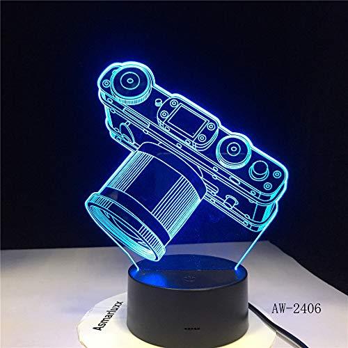 Kamera Licht Batterie Licht Touch Farbwechsel Tabelle Nachtlicht Bett Kopf Dekoration Raumschiff