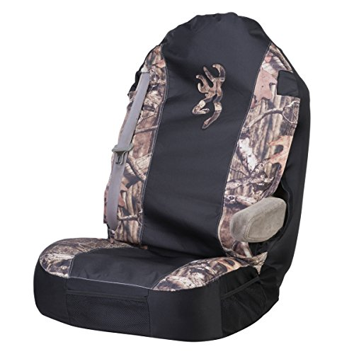 Browning Camo Universal Bucket Seat Cover (Mossy Oak Break-Up Infinity Camo, Durable Polyester Fabric, Sold Individually)