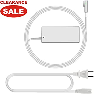Compatible for MacBook Pro/Air Charger, Replacement for 60W Magsafe 2 T-tip Connector AC Power Adapter Charger for MacBook Pro 13inch Retina Display (Late 2012 & After)