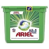 Ariel Todo en Uno Pods, Regular Detergente en Cápsulas 23 Lavados, con Lavado a 20 °C y Perfume Duradero