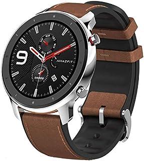 Relogio Smartwatch Amazfit GTR-47MM Stainless Steel (A1902) - Prata/Marrom