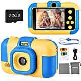 SUZIYO Kids Camera, Digital Video Camcorder Dual Lens...