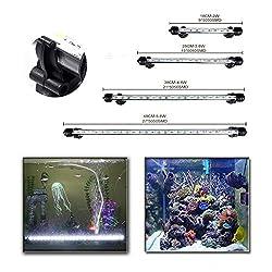 DOCEAN-Aquarium-Beleuchtung-Lampe-weilicht-Lighting-Leuchte-5050SMD-Licht-fr-Fisch-Tank-Wasserdicht