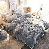 Wondo Faux Fur Throw Blankets Fu...