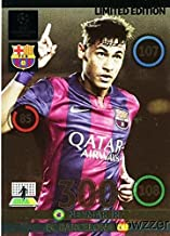 2014/2015 Panini Adrenalyn Champions League EXCLUSIVE Neymar Jr Limited Edition MINT! Rare Card Imported from Europe ! Shipped in Ultra Pro Top Loader to Protect it!