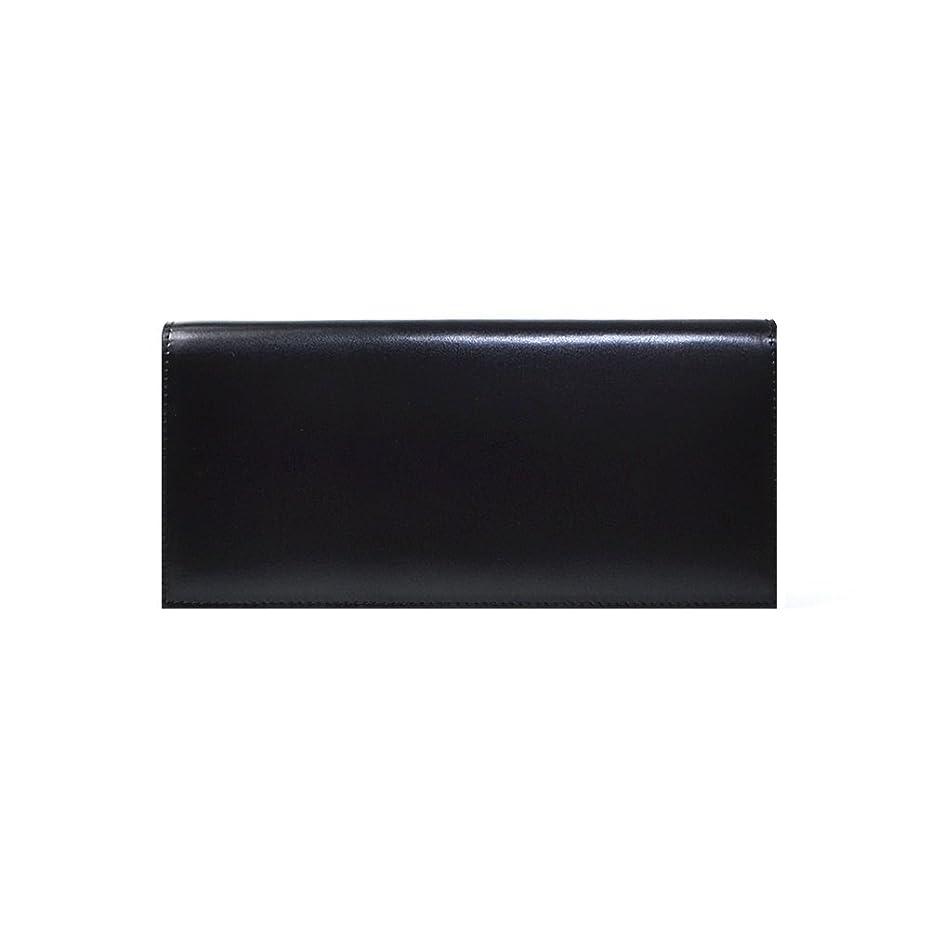 縁石もつれ恐ろしい(ランザ) 長財布 カウハイドレザー [ ブラック ] 二つ折り 財布 イタリア製